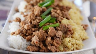 Korean Beef and Rice {Or Quinoa}