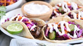 Crazy Good Korean Beef Tacos