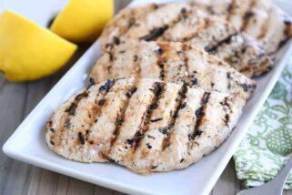 Lemon Garlic Grilled Chicken {My Go-To Grilled Chicken Recipe}