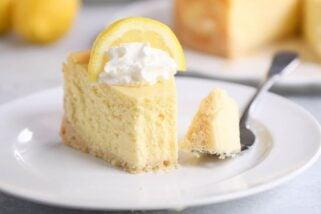 Amazing Lemon White Chocolate Cheesecake