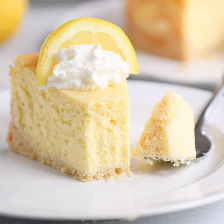 Lemon White Chocolate Cheesecake Recipe Mel S Kitchen Cafe