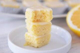 Little Lemonies {Yummy Lemon Brownies}
