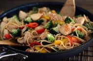 Simple Chicken Lo Mein