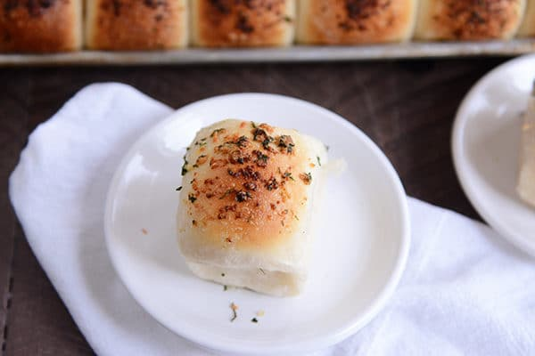 Asiago and Herb Dinner Rolls {Magleby's Rolls}