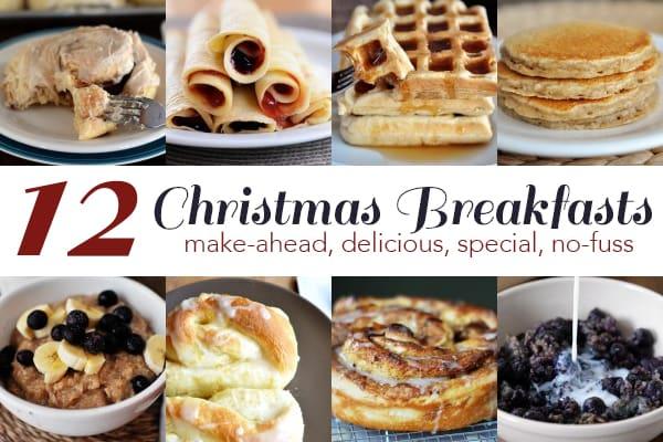 make ahead christmas breakfasts
