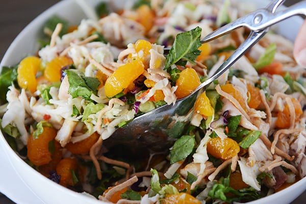 Mandarin Orange Chicken Salad