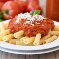 Homemade Canned Spaghetti Marinara Sauce