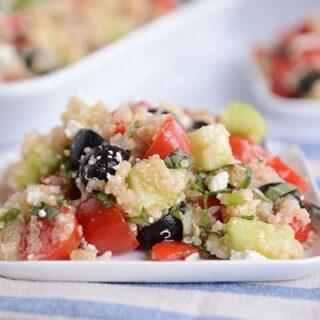 Mediterranean Quinoa Vegetable Salad