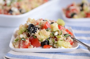 Mediterranean Quinoa Vegetable Salad