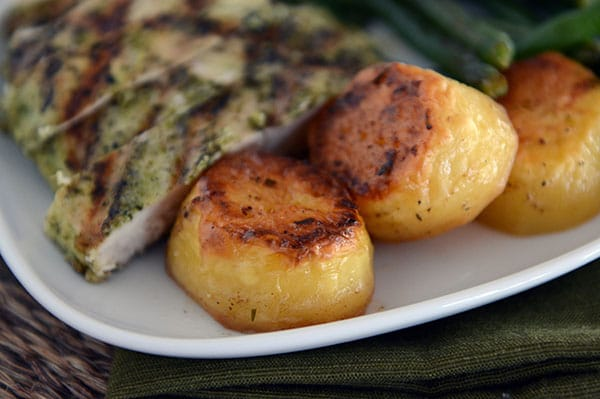 Melt-in-Your-Mouth Buttery Roasted Potatoes