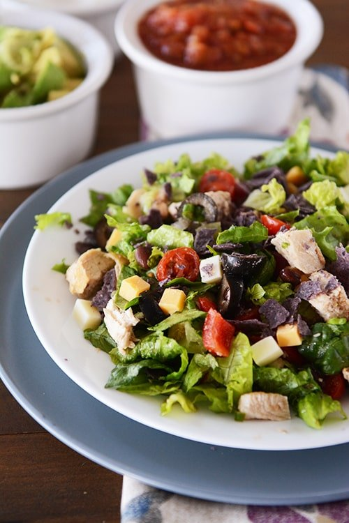 Mexican Chopped Chicken Salad