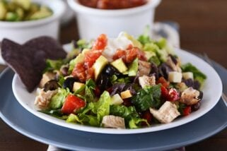 Mexican Chopped Salad with Simple Honey Vinaigrette