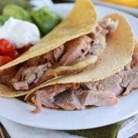 Grilled Mojo Pork Tenderloin Tacos