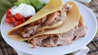 Grilled Mojo Pork Tenderloin Tacos