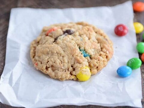 M&M Cookies {Peanut Butter, Oatmeal