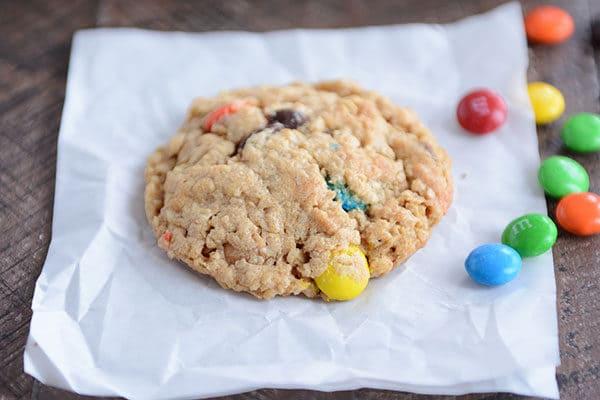 Gluten-Free Monster Cookies