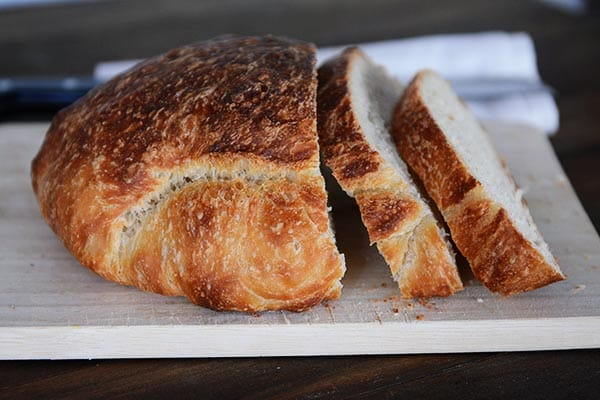 Crusty Artisan No-Knead Bread {Made Even Easier + Step-by-Step ...