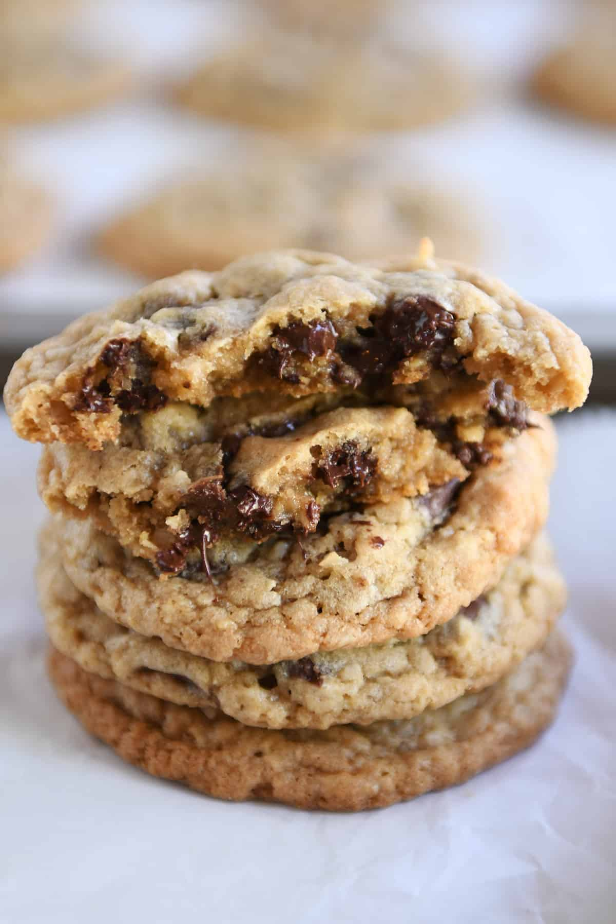 Chewy Oatmeal Chocolate Chip Coconut Cookies My Favorite Cookie