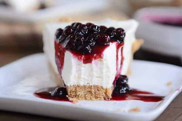 The Best No-Bake Cheesecake
