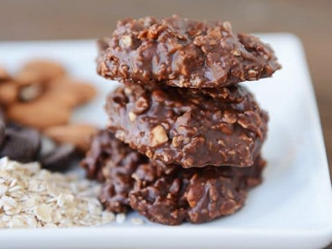 Healthier No Bake Cookies No Refined Sugar Or Oil