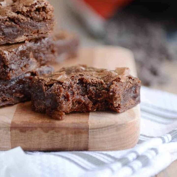 Extra Fudgy One Bowl Brownies