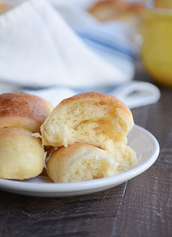 Make-Ahead Buttery, Flaky Overnight Dinner Rolls {No Kneading/No Stand Mixer}