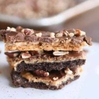 Easy Peanut Butter Chocolate Graham Cracker Toffee