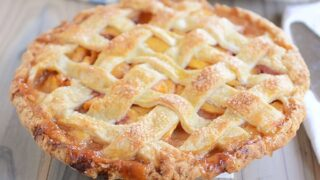 My Favorite Fresh Peach Pie