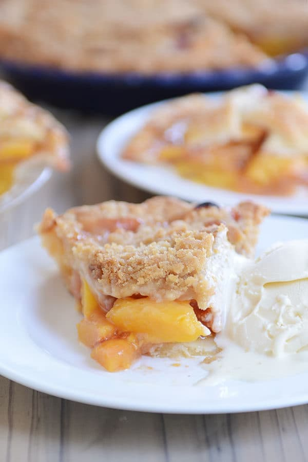 Looking for an easy, tried-and-true fresh peach pie recipe? This is the one!