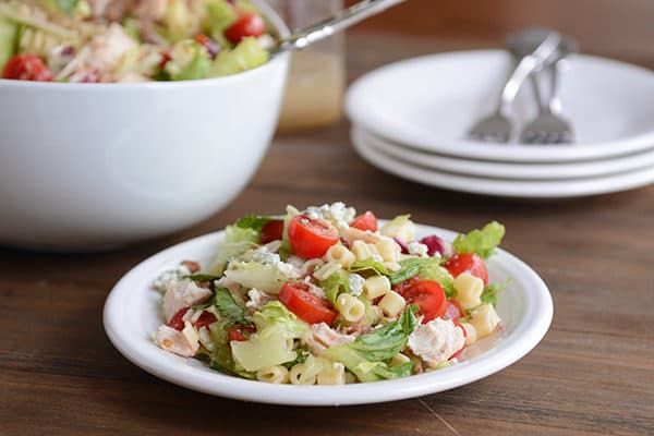Portillo's Chopped Salad with Sweet Italian Dressing