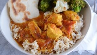 Pressure Cooker Chicken Curry
