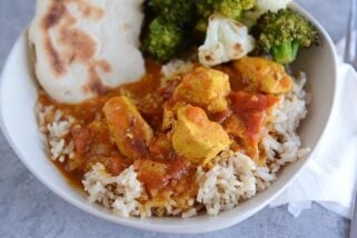 {Pressure Cooker or Stovetop} Chicken Coconut Curry
