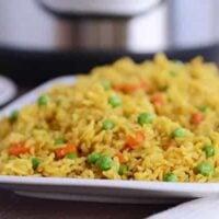 Instant Pot {Pressure Cooker} Indian Vegetable Rice