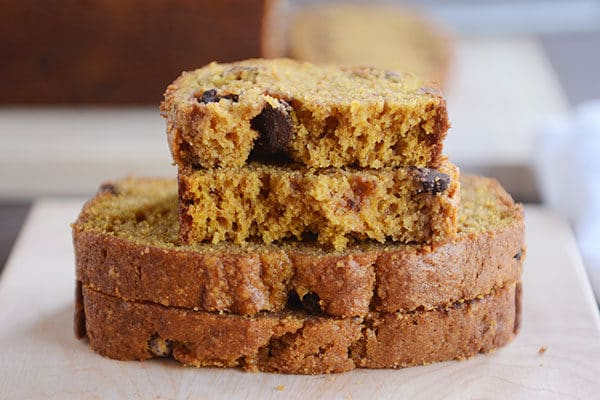 Perfect Pumpkin Chocolate Chip Bread