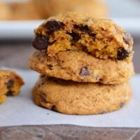 Perfect Pumpkin Chocolate Chip Cookies