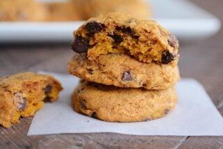 Perfect Pumpkin Chocolate Chip Cookies