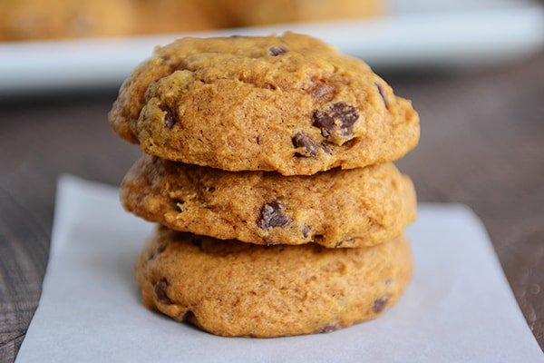 Classic Pumpkin Chocolate Chip Cookies