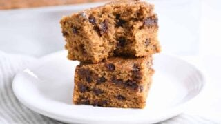 Whole Grain Pumpkin Chocolate Chip Snack Cake
