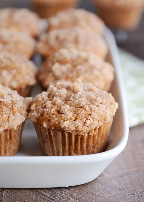 Light and fluffy, these pumpkin cream cheese muffins are amazing!