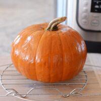 Easy Homemade Pumpkin Puree {Pressure Cooker}