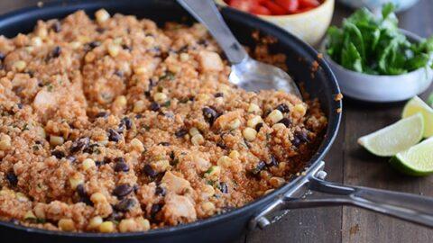 quinoa enchilada skillet2