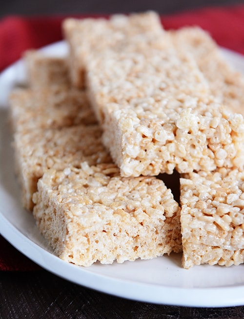 The Best Browned Butter Rice Krispie Treats
