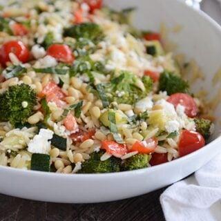 Summer Orzo Salad