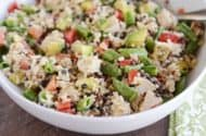 This delicious Santa Rosa chicken salad is so easy and fast to make and packed with the most delicious flavors!