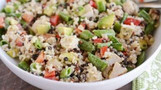 Santa Rosa Chicken and Wild Rice Salad
