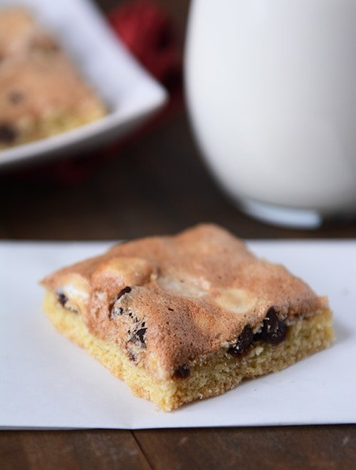 Scripture Bars {i.e. Mud Hen Bars or Marshmallow Chocolate Chip Cookie Bars}