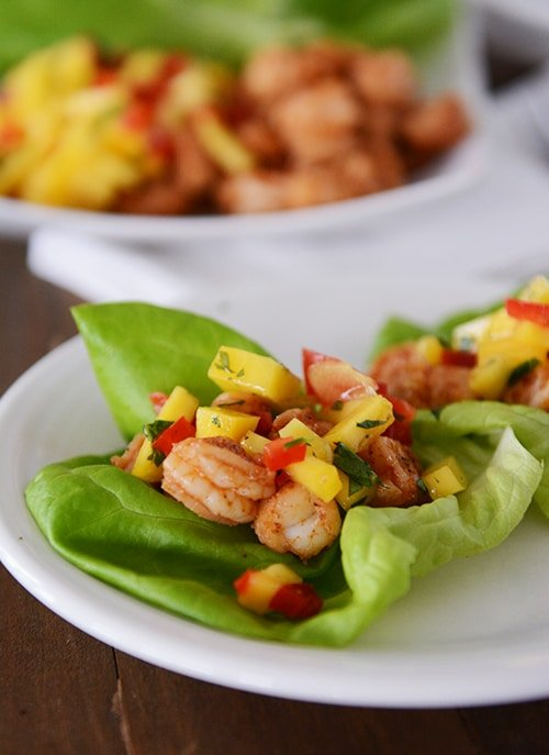 shrimp lettuce wraps1