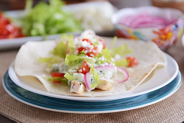 Simple and Delicious Greek Chicken Burrito Wraps