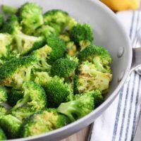 5-Minute Skillet Broccoli {Three Ways!}