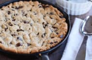 Soft Baked Skillet Cookie